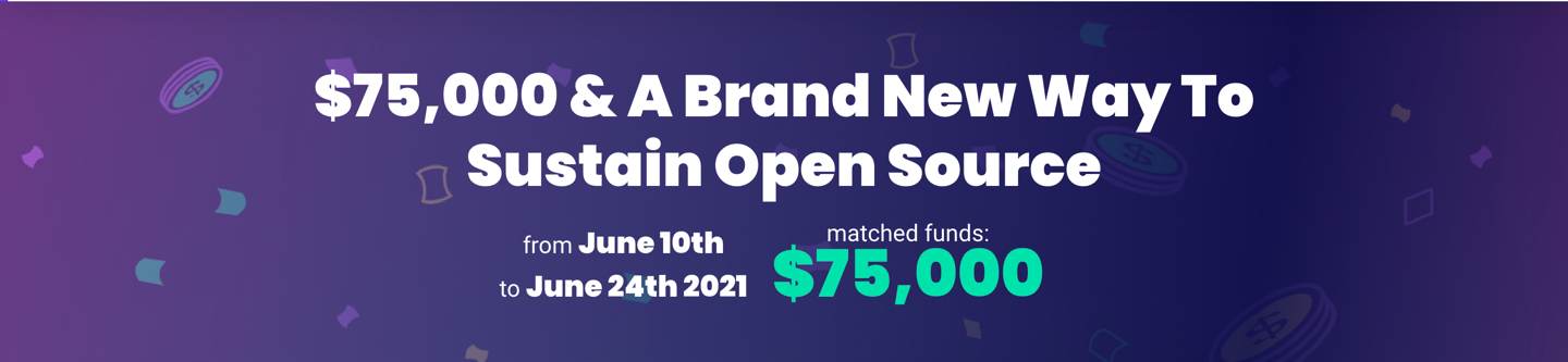 $75,.000 & A Brand New Way To Sustain Open Source